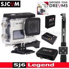 ความคิดเห็น Sjcam Sj6 Legend 4K 16Mp เมนูไทย Silver Kingston32Gb Battery Dualcharger Bag L Remoteselfie