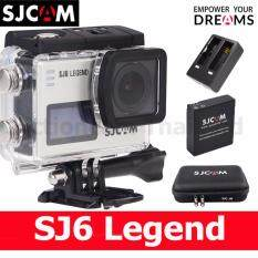SJCAM SJ6 LEGEND 4K 16MP (Silver)+Battery+DualCharger+SCAM Bag