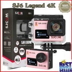 SJCAM SJ6 LEGEND 4K,16Mp action cam สีชมพู เเท้ 100%