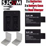 ราคา Sjcam Sj8000 Batteries For Sjcam Sj4000 Sj5000 Sj6000 Sj7000 Sj8000 Wifi Camera M10 Sjcam ใหม่