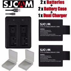 ซื้อ Sjcam Sj8000 Batteries For Sjcam Sj4000 Sj5000 Sj6000 Sj7000 Sj8000 Wifi Camera M10 ใหม่