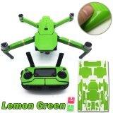 ขาย Skin Decal Wrap Cover Sticker Lemon Green For Dji Mavic Pro Protection Intl ถูก ใน จีน