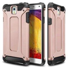 ซื้อ แบบสลิมพอดีทนทาน Hybrid Dual Layer Hard เกราะทนต่อแรงกระแทก กันชนกันชนกันกระแทกสำหรับ Samsung Galaxy หมายเหตุ 3