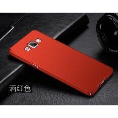 ขาย Slim Fit Shell Hard Full Protective Anti Scratch Resistant Cover Case For Samsung Galaxy A7000 A7 2015 Red Intl ออนไลน์ ใน จีน