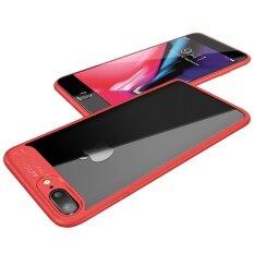 ราคา ปลอกหุ้มหนังศีรษะบางเฉียบแบบบางเฉียบพร้อมซ็อกเก็ตซิลิโคนสำหรับแอปเปิ้ล Iphone 8 พลัส 5 5 นิ้ว นานาชาติ ใหม่ ถูก