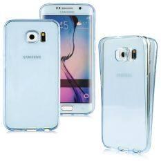 ราคา ผอมหน้าใสเนียน Tpu เคสยางครอบย้อนกลับสำหรับ Samsung Galaxy S7 Edge สีน้ำเงิน ต่างประเทศ Unbranded Generic ใหม่