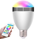 ส่วนลด Smart Led Bulb Bluetooth Music Led Bulb Bluetooth 4 Speaker 6W E27 B22 Music Playing Rgbw Light Lamp With 24 Keys Ir Remote Control For Home Use Office Use Store Use Intl Unbranded Generic ชิลี