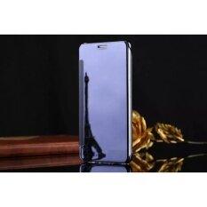 ซื้อ Smart Sleep Mirror Flip Case Cover For Samsung Galaxy C9 Pro Dark Blue Intl Unbranded Generic ออนไลน์