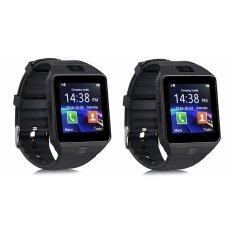 โปรโมชั่น สมาร์ทวอทช์ นาฬิกาโทรศัพท์ถ่ายรูปได้ Smart Watch รุ่น Dz09 สีดำ X 2 อัน ใน กรุงเทพมหานคร