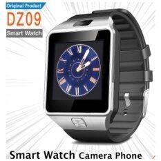 ซื้อ Smart Watch Phone รุ่น Dz09 สีดำ กล้องนาฬิกาบูลทูธ ใส่ซิมได้ Bluetooth Smart Watch Sim Card Camera