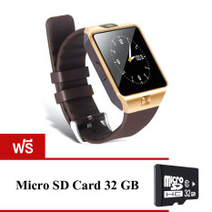 Smart Watch Phone รุ่น NZ09 นาฬิกาโทรศัพท์อัจฉริยะ (สีทอง) แถมฟรีsd card 32gb