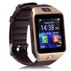 ราคา ราคาถูกที่สุด Smart Watch รุ่น Dz09 นาฬิกาโทรศัพท์มีกล้อง สีทอง