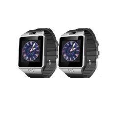 Smart Watch Z นาฬิกาโทรศัพท์ Smart Watch รุ่น A9 Phone Watch แพ็ค 2 ชิ้น (Silver)