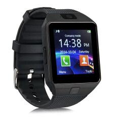 ซื้อ Smart Watches Dz09 Bluetooth Smart Wristband Watch For Android And Ios Black ใหม่ล่าสุด