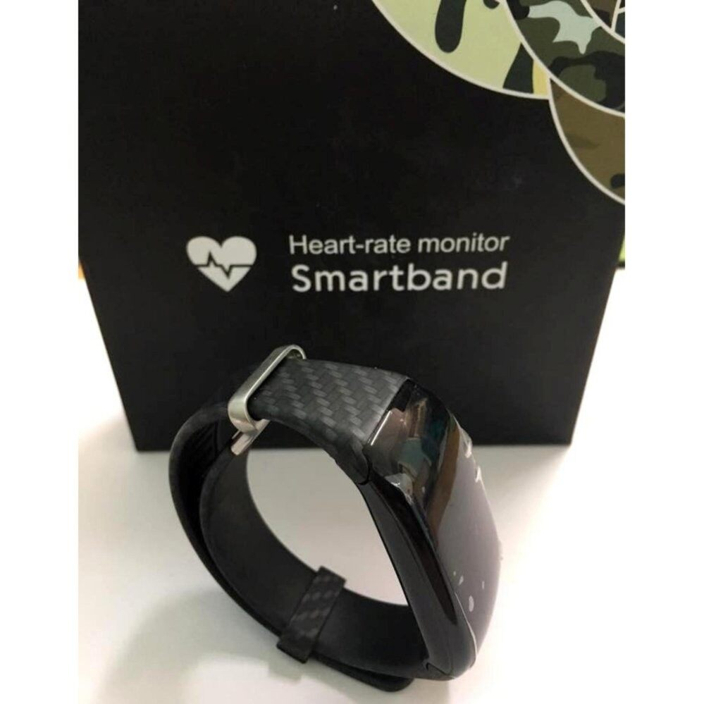 Smartband Heart-rate monitor Swimming Mode Monitor Mileage Calorie Heart Rate Monitor bracelet  Caller ID SMS Reminder Pedometer   สายรัดข้อมือเพื่อสุขภาพ อุปกรณ์ไอทีสวมใส่