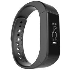 smile C นาฬิกาสุขภาพอัจฉริยะ ติดตามกิจกรรม Bluetooth Smart Wristband Watch รุ่น I5 Plus Activity Tracker (Black)