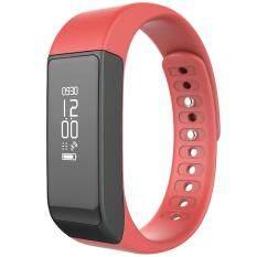 smile C นาฬิกาสุขภาพอัจฉริยะ ติดตามกิจกรรม Bluetooth Smart Wristband Watch รุ่น I5 Plus Activity Tracker (Red)