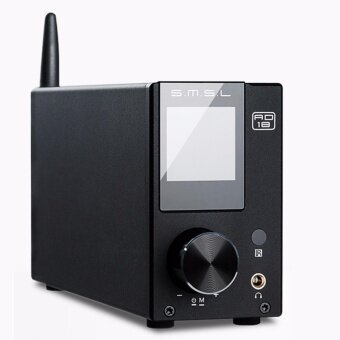 SMSL AD18 80 วัตต์ * 2 ความรับผิดชอบต่อสังคม A64215 DSP ไฮไฟบลูทูธบริสุทธิ์เครื่องขยายเสียงระบบเสียงดิจิตอลออปติคอล/Coaxial ยูเอสบี DAC ถอดรหัสด้วยรีโมทคอนโทรล