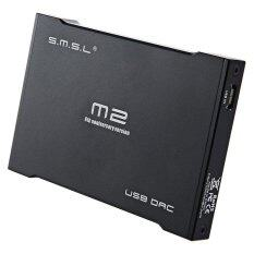 ซื้อ Smsl M2 Pro Mini Headphone Amplifier External Sound Card Built In Amp Dac Black Intl ใหม่ล่าสุด