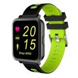 ซื้อ Sn10 Wristband Heart Rate Monitor Bluetooth Music Pedometer Fitness Tracker Watches For Android And Ios Phone Intl ใน จีน