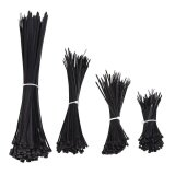 ซื้อ Sobuy 400Pcs Nylon Cable Zip Ties 4 6 8 12 Inches Black Intl ใหม่ล่าสุด