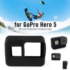 เคสซิลิโคนนิ่มปิดบังผิวฉนวนสำหรับ Gopro Hero 5 กล้อง Os830 ใน Thailand