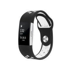 ขาย ซิลิโคนสายคล้องกีฬาแบบปรับได้สำหรับ Fitbit Charge 2 Hr อัตราการเต้นหัวใจ สายรัดข้อมือฟิตเนส นานาชาติ ออนไลน์