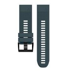 ราคา Soft Silicone Replacement Watch Band Strap For Garmin Fenix 5X Color Navy Saideng เป็นต้นฉบับ