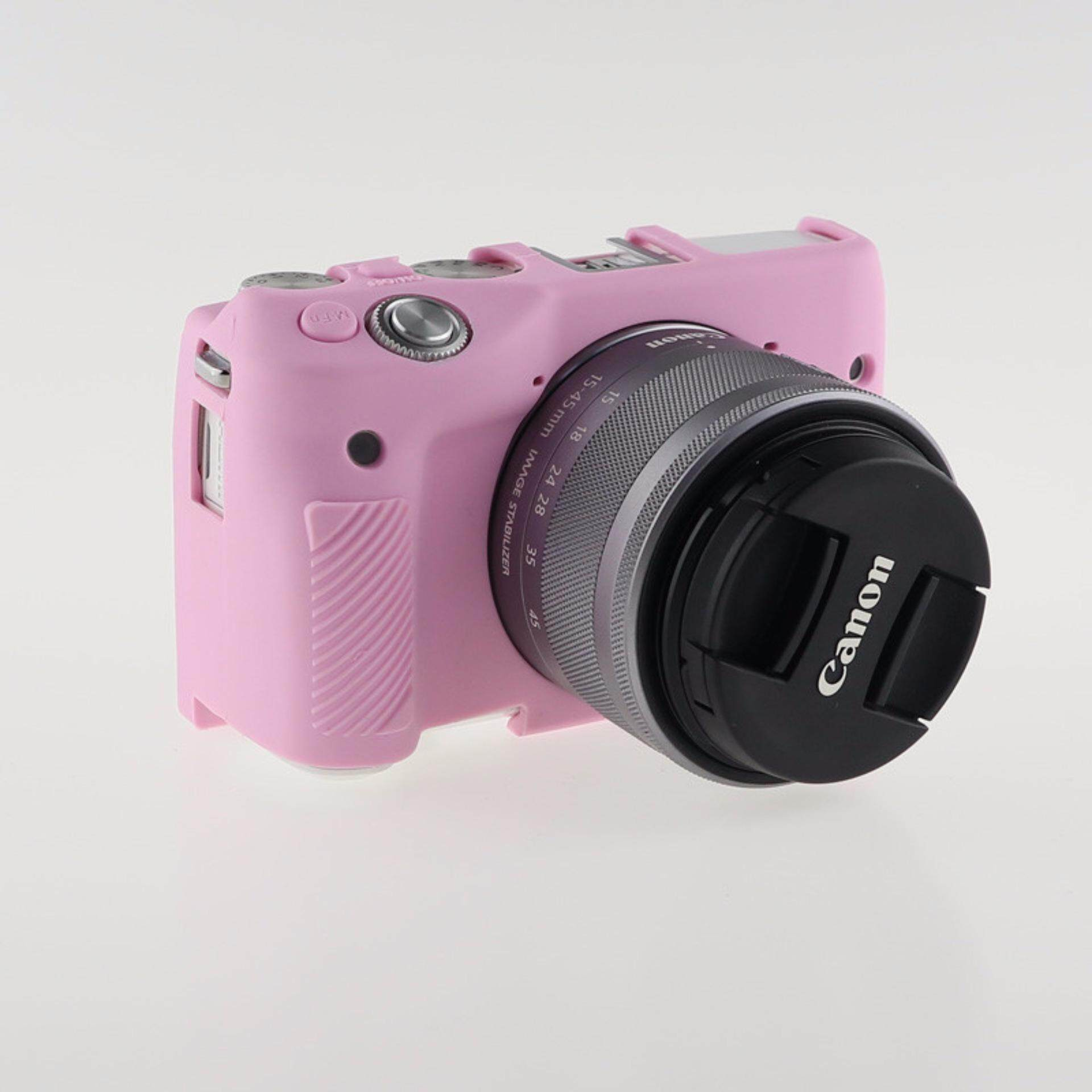 Soft Silicone Rubber Camera Case for Canon EOS M3 S0893 COLOR