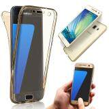 ทบทวน Soft Tpu Case Slim Fit Transparent 360 Degree Full Body Front And Back Cover Non Slip Shock Absorption Protective Skin Shell For Samsung Galaxy A7 Intl Unbranded Generic