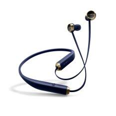 SOL REPUBLIC หูฟังบลูทูธแบบสอดหู รุ่น Shadow Wireless In-Ear (Navy/Gold)