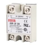 โปรโมชั่น โอ รีเลย์โมดูล Ssr สถานะมั่นคง 25Da 25 Amps 250โวลต์ 3 32 V Dc อินพุต 24 380 ชาตินิยมเอาท์พุต Unbranded Generic