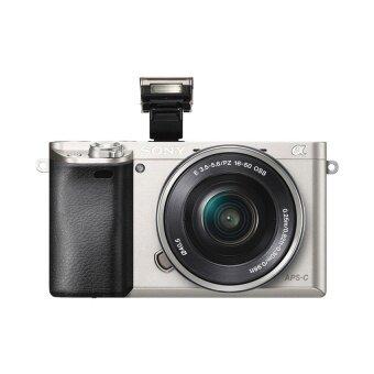 Sony กล้องดิจิตอล รุ่น A6000 KIT 16-50mm. สีเงิน (ประกันร้าน EC-MALL)