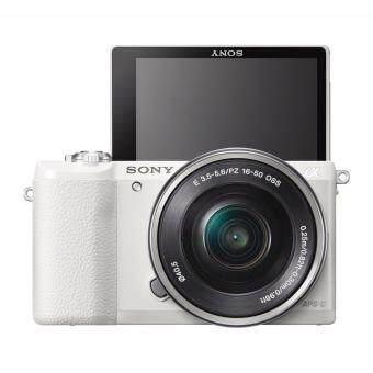 Sony Alpha a5100 Mirrorless Digital Camera with 16-50mm Lens – Black
