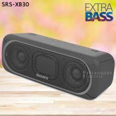Sony ลำโพงกันน้ำ Bluetooth / NFC SONY SRS-XB30 (สีดำ)