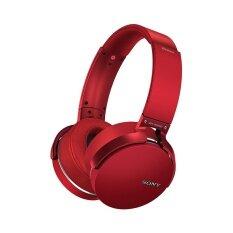 ราคา Sony หูฟัง Bluetooth Extra Bass รุ่น Mdr Xb950B1 สีแดง Sony ใหม่
