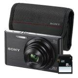 โปรโมชั่น Sony Cyber Shot Dsc W830 Black Sdcard 8Gb Camera Bag Thailand
