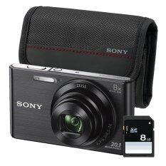 Sony Cyber Shot Dsc W830 Black Sdcard 8Gb Camera Bag Sony ถูก ใน Thailand