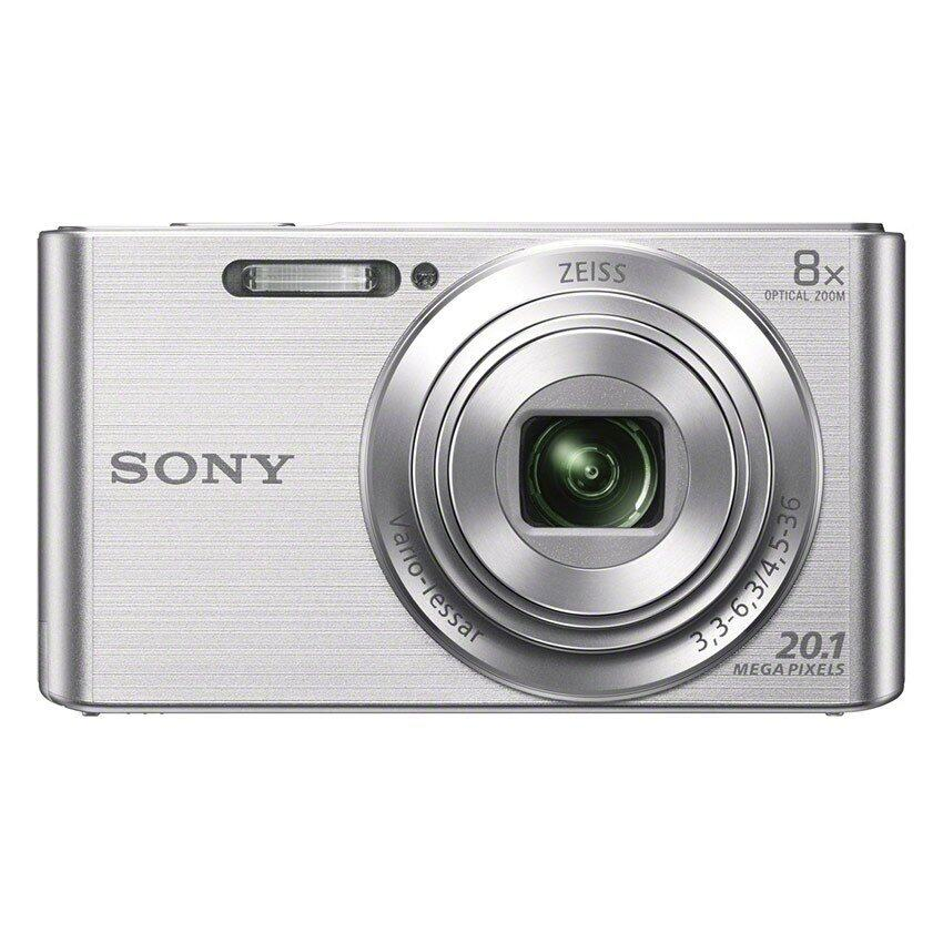 ทบทวน Sony Dsc W830 Compact Camera With 8X Optical Zoom Silver Sony