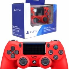 New DualShock 4 V2 - Magma Red (CUH-ZCT2)