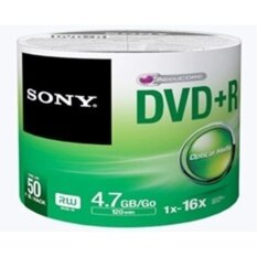 Sony Dvd+r 4.7 Gb 16x ( 50/pack)(green) By Dawdoi Accessories.