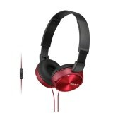 ราคา Sony Headphone With Mic Mdr Zx310Ap Red ใน ไทย