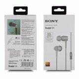 ซื้อ Sony หูฟังแบบสอดหู รุ่น Mdr Ex750Ap สีเทา Sony