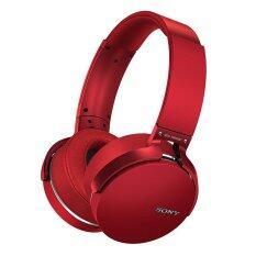 Sony หูฟังแบบครอบหู บลูทูธรุ่น MDR-XB650BT(Red)