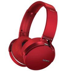 Sony MDR-XB950B1 (Red) หูฟัง Bluetooth/Extra Bass (ประกันศํูนย์ Sony 1ปี)