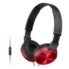 ความคิดเห็น Sony หูฟังแบบครอบหู รุ่น Mdrzx310Apr สีแดง ไมค์