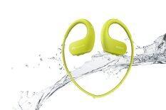 Sony NW-WS413 WALKMAN เครื่องเล่น MP3 FM  กันน้ำได้ สี Lime Green