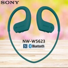 Sony NW-WS623 4GB Waterproof Walkman with Bluetooth (สีฟ้าอมเขียว)