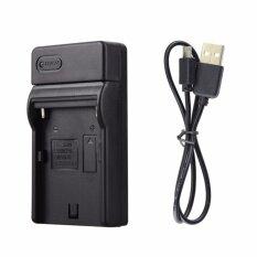 โปรโมชั่น Sony Panasonic Jvc Usb Battery Charger แท่นชาร์จแบ็ตเตอรี่ Np Fm500H Fm50 ถูก