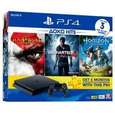 Sony PlayStation®4 HITS Bundle 3 PACK ASIA00213(CUH-2106AB01)/ 500GB /Free:เกมส์ 3 แผ่น/ประกันศูนย์Sony Thai